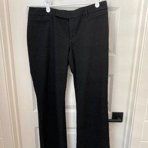 GAP Modern Boot Dress Pants Black